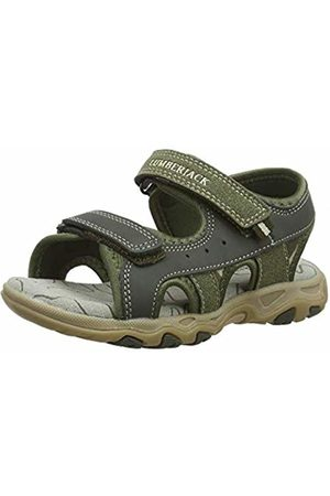 Lumberjack Boys'' Levi Open Toe Sandals Military/ M0280