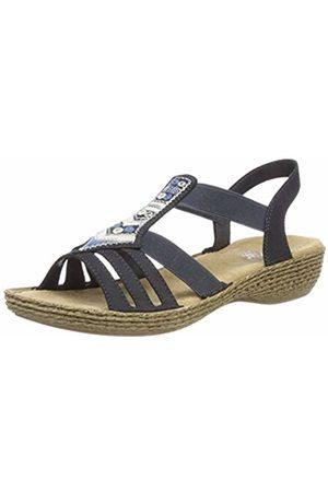 Rieker Women's 65807 Closed Toe Sandals