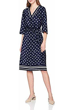 s.Oliver Women's 14.903.82.7375 Dress, (Dark Floral Print 58c6)
