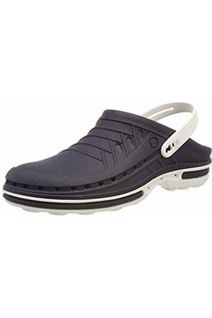 Wock Clog with Strap Professional Footwear - Sterilizable; Antistatic; Antislip; Shock Absorption - /Navy - UK : 11 ; EUR : 45-46