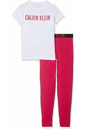 Calvin Klein Girl's Knit Pj Set (ss+Cuffed Pant) Pyjama
