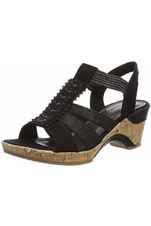 Marco Tozzi Women's 2-2-28305-22 Closed Toe Sandals Comb 098 8 UK