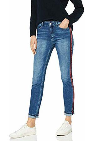 Comma, Women's 88.903.71.2079 Slim Jeans, Blau Denim Stretch 56z7