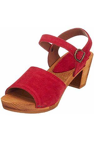 Sanita Women's Menna Square Flex Sandal Ankle Strap
