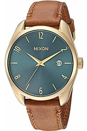 Nixon Unisex Analogue Quartz Watch with Leather Strap A473-2626-00