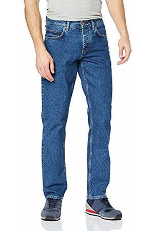 Tommy Hilfiger Men's ICON Regular Mercer STR 90'S STN Straight Jeans