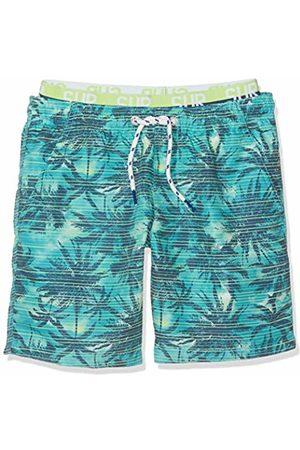 Sanetta Boy's Swim Trunks Woven Shorts, (Cyan )