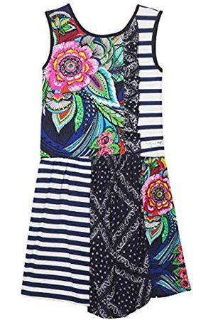 Desigual Girls Knitted Dresses - Girl Knit Dress Sleeveless (Vest_Antananarivo)