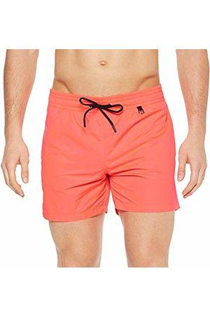 Hom Men's Sunlight Beach Boxer Swim Shorts