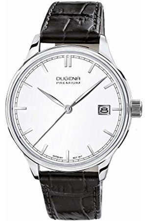 DUGENA Men's Premium 2015 SIGMA Quartz Watch with Dial Analogue Display and Leather Strap