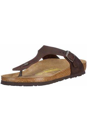 Birkenstock Gizeh Natural Leather, Style-No. 743831, Unisex Thong Sandals, 2.5 UK (35 EU)