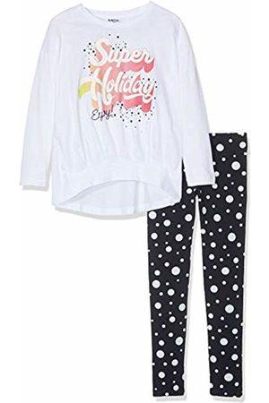 MEK Girl's Completo Jersey T-Shirt M/l.+Leggings Clothing Set