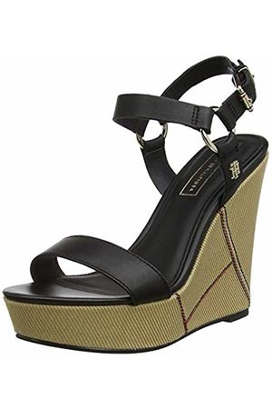 92cbc0a38 Tommy Hilfiger strap wedge sandals women s shoes