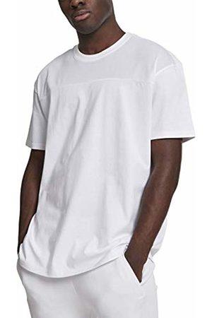 Urban classics Men's Mesh Panel Tee T-Shirt, ( 00220)