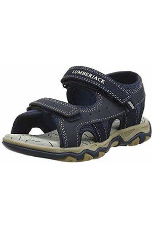 Lumberjack Boys' Levi Open Toe Sandals, (Navy Cc001)