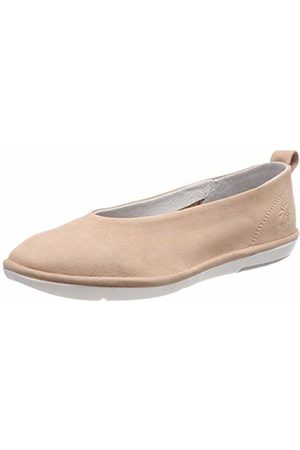 Fly London Women's CROT960FLY Closed Toe Ballet Flats, (Nude 002)