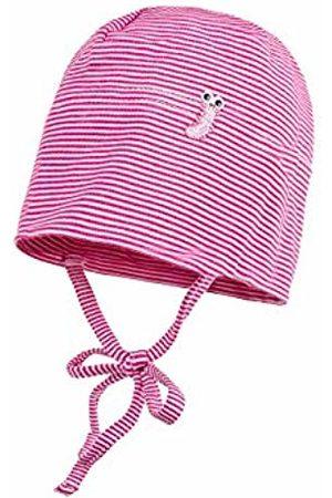 maximo Baby Girls' Beanie, Gestreift Hat, (Sun 25)