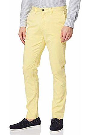 Tommy Hilfiger Men's Slim Bleecker Chino GMD Flex Trousers Gelb (Sunshine 721) W30/L32