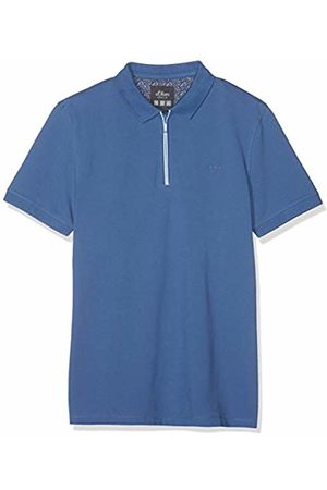 s.Oliver Men's 13.903.35.4972 Polo Shirt, (Oxide 5474)