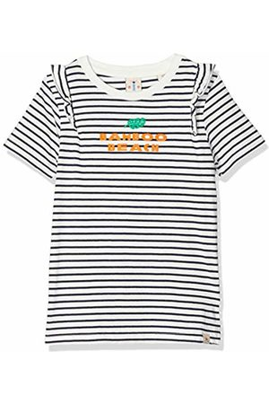 Scotch&Soda R´Belle Girl's Regular Fit Short Sleeve Tee with Ruffle Details Sports Tank Top (Combo S 598) 140 (Size: 10)