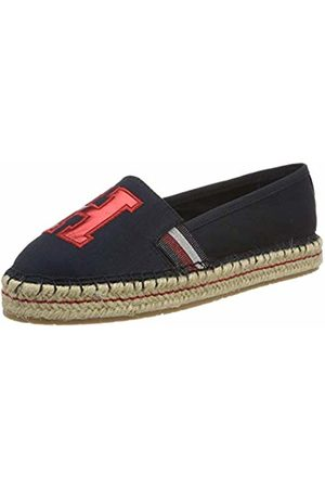 Tommy Hilfiger Women's's TH Patch Espadrille (Midnight 403)