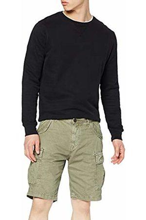 Trussardi Jeans Men's's Cargo Fit Short - Garment Dyed Trouser G262/Mimetic G262