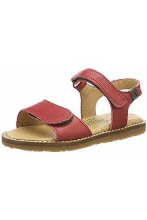 f109805b6c83 El Naturalista Kids Girls  E516 Vaquetilla Geranio Africa Sling Back Sandals