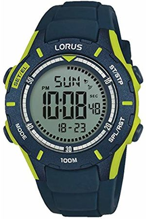 Lorus Boys Chronograph Digital Watch with Silicone Strap R2365MX9