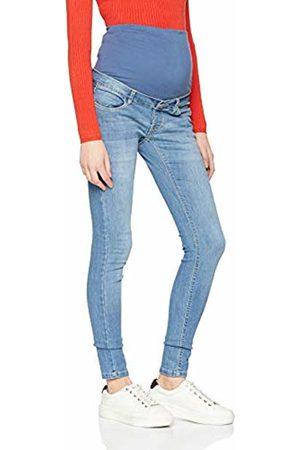 Noppies Women's Jeans OTB Skinny Avi Aged Maternity, Blau P144