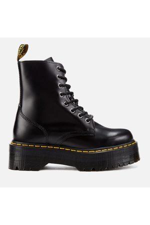 Dr. Martens Jadon Polished Smooth Leather 8-Eye Boots