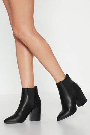 NASTY GAL Womens Walk Away Faux Leather Chelsea Boots - - 8