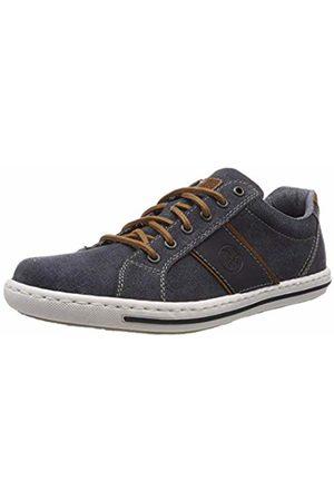 Rieker Men's 19011-14 Low-Top Sneakers, Amaretto/Navy 14