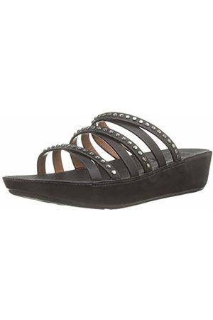 FitFlop Women's Linny Open Toe Sandals, ( 001)