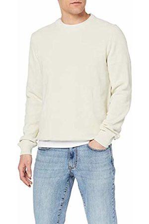 Izod Men's 12gg Pique Crew Neck Sweater Jumper (Stone 278) XX-Large