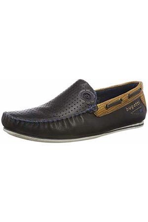 bugatti Men's 321704661010 Loafers, (Dark /Cognac 4163)
