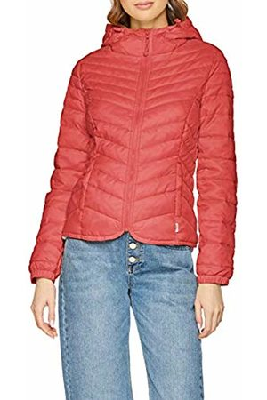 a2824ef7f Only Women's Onldemi Hooded Nylon Jacket Cc OTW (Geranium) 12 (Size: Medium