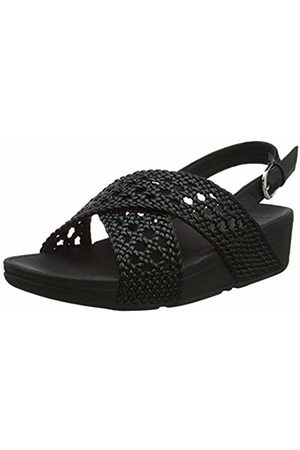 FitFlop Women's's Twine LULU Sandal Open Toe ( 001)
