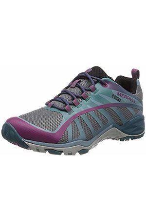 Merrell Women's's Siren Edge Q2 Waterproof Low Rise Hiking Boots, Clover/Smoke