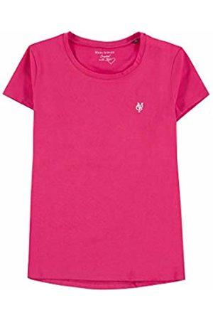 Marc O' Polo Girl's T-Shirt 1/4 Arm (Azalea|