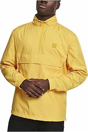 Urban classics Men's Hidden Hood Pull Over Jacket (Chrome 01148)