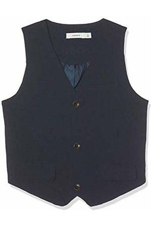 Name it Boy's Nkmingemann Waistcoat Noos Dark Sapphire