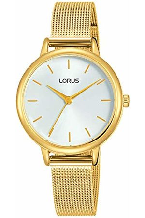Lorus Womens Analogue Quartz Watch with Gold Plated Strap RG250NX8