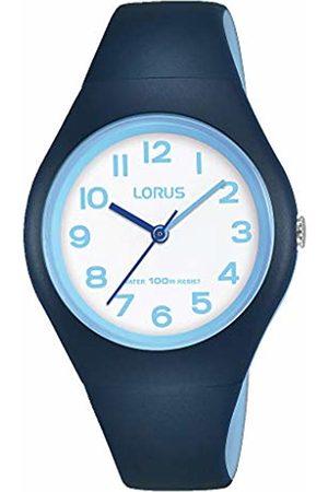 Lorus Boys Analogue Quartz Watch with Silicone Strap RRX05GX9