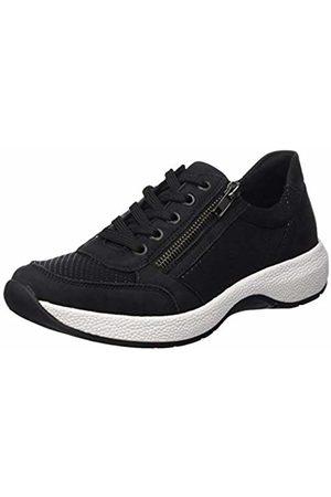 Remonte Women's R8900 Low-Top Sneakers, Schwarz 01