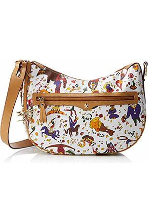 PIERO GUIDI Stella Hobo Bag, Women's Shoulder (Bianco)