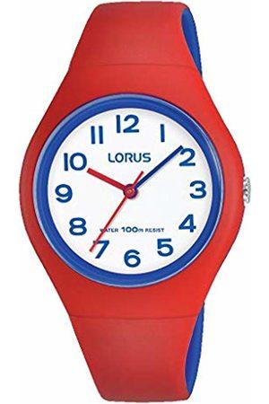 Lorus Girls Analogue Quartz Watch with Silicone Strap RRX03GX9