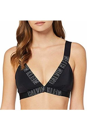 Calvin Klein Women's Plunge Bralette-rp Bikini Top