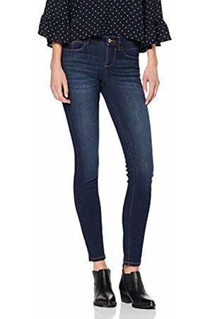 Tom Tailor Women's Graue Biker Jeans Names Alexa Skinny (Dark Stone Wash Deni 10282)