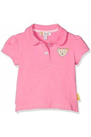 Steiff Baby Girls' Poloshirt Polo Shirt (Morning Glory 7013) 30 (Size: 56)