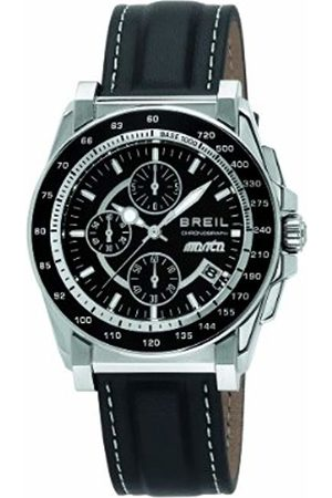 Breil Manta Men's Quartz Watch with Dial Chronograph Display and Leather Strap TW0789